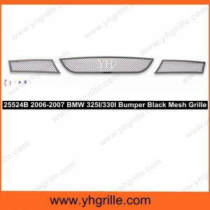 China 2006-2007 BMW 325I/330I Lower Bumper Black Wire Mesh Grille on sale