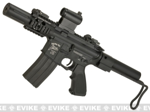 China G&P Fighting Cat Airsoft CQB M4 Airsoft AEG with Tanker Stock on sale