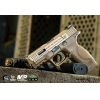 China EMG / SAI / Smith & Wesson Licensed M&P 9 Full Size Airsoft GBB Pistol - Tan (Package: Gun Only) for sale
