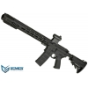 China EMG SAI Licensed AR-15 GRY M4 Airsoft AEG Training Rifle with Jailbreak Muzzle Device and Red Dot for sale