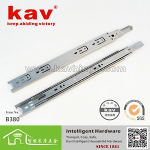China B380 38width stainless steel soft close cabinet drawer hardware on sale