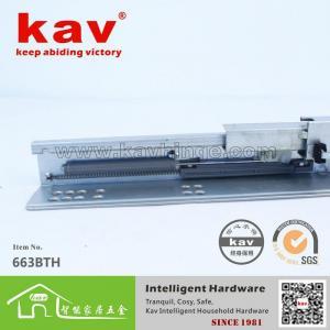 China 663BTH three folds concealed blumotion soft close drawer slides on sale