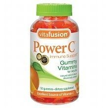 China Vitafusion Power C, Immune Support, Adult Vitamins, Gummies Absolutely Orange on sale