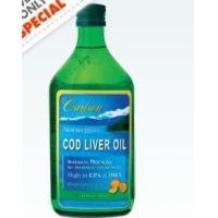 Norwegian Cod Liver Oil Lemon liquid
