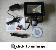 China Security Flood Light Camera Motion Activated Built In Camera and DVR on sale