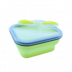 China Silicone Foldable Lunch Box 600ml KC201661 on sale