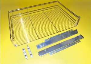 China Kitchen System 3 Sides Basket Drawer on sale