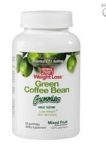 China Weight Loss Green Bean Coffee Gummies - Mixed Fruit on sale