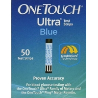 OneTouch Ultra Blood Glucose Test Strips Blue  50 ct