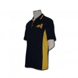 China black polo shirt for men on sale