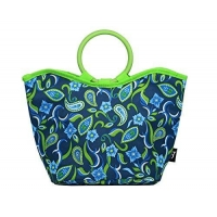 China Merkapa Thermo Cooler Insulated Bag Freezer Lunch Tote (Dark Blue) on sale