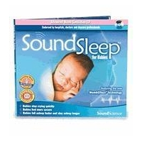 "SoundSleep for Babies CD by SoundScience SS1-1dp w/ Free Ground Shipping!! ""In-Stock"""