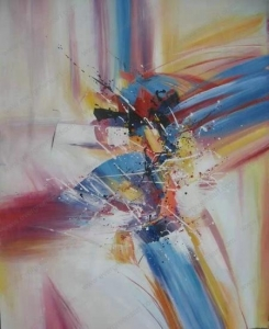 China Sample Paintings modern abstract acrylic painting on canvas on sale