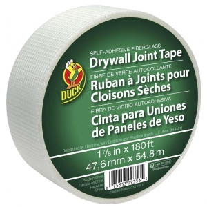 China Duck Brand Self-Adhesive Fiberglass Drywall Joint Tape, 1.88 in. x 180 ft. on sale