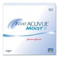Men Acuvue 1 Day Moist - 90 Pack Contact Lenses