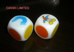China CN 1006 Dice with color printing on sale