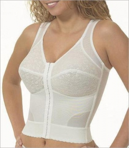China Cortland Intimates Back Support Soft Cup Longline Bra Style 9603 on sale
