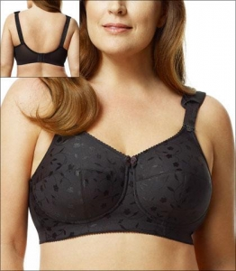 China Elila Jacquard Soft Cup Bra 1305 supplier