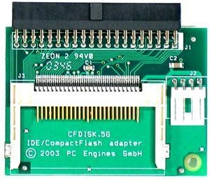 China CFDISK.5 IDE to Compact Flash Adapter on sale