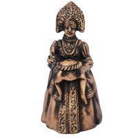 China Queen Hand bell bronze finish metal hand bellItem Code on sale