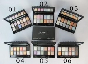 China Mac 12 Color 6 Sizes Eye Shadow on sale