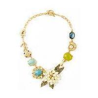 7082 Choker with resin beads pendant, fashion jewelry