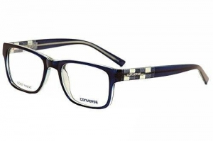 China Converse Eyeglasses Q042 Q/042 Blue Fashion Full Rim Optical Frame 52mm on sale