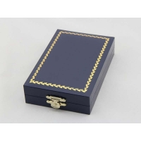 custom exquisite high quality wood medal box