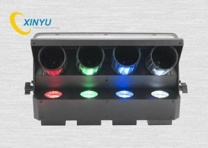 China PL-83 AMERICAN DJ Zipper 4-Head Quad RGBW Barrel Mirrored Roller Scanner Effect Light on sale