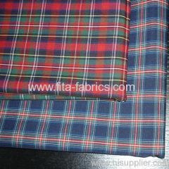 China Polyester and cotton yarn-dyed poplin woven fabric on sale