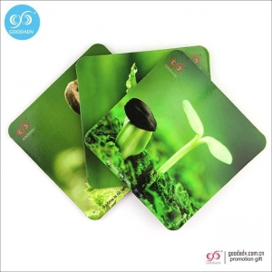 China Products Home Decor cup mat set seeds printing custom cork coaster for drinks on sale