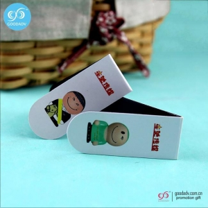 China Products custom magnetic bookmark / folding magnetic bookmark / paper bookmarks on sale