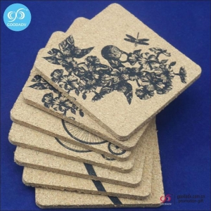 China Products 2016 Hot selling novelty waterproof coasters custom cork coaster placemats on sale