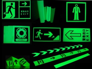 China MHF-G100 Photoluminescent Vinyl for Luminous Signs on sale