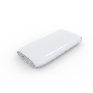 China 5000mAh Portable Charger External Battery Pack Power Bank (Built-in Dual USB Cables) on sale