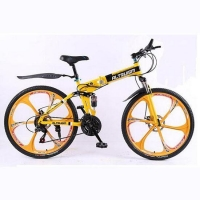 26 inch folden mountain bicycle men folding mountain bike planet pac wheels