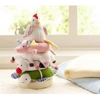 Soft Stacking Farm Toy for Baby by Pottery Barn Kids