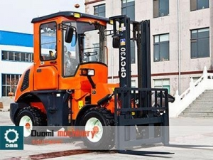 China CPCY30 4x4WD Rough Terrain Forklift on sale