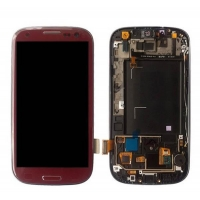 For Samsung Galaxy S3 i9300 LCD With Touch Without Frame Red