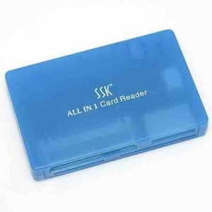 China SSK SCRM003 All in 1 Card Reader XD MS Pro SD CF MMC on sale
