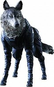 China Metal Gear Solid V Phantom Pain Play Arts Kai D-Dog Action Figure on sale