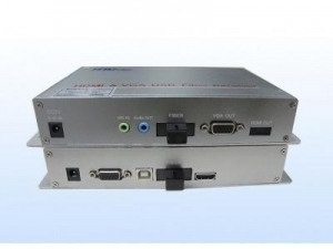 China Single core VGA optical fiber transceiver(with mouse and keyboard) on sale