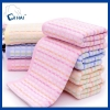 China Pure Cotton Yarn Dyed Corn Grid Shape jacquard Towel face towel supplier for sale
