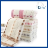 China 100% Cotton Jacquard raindrop Face Towel Manufacturer for sale