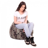 Style Homez Classic Cotton Canvas Camouflage Printed Bean Bag XL Size Rs 1,49900 Save Rs. 300