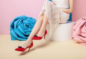 China Shiny Fashion High Heel Pumps on sale