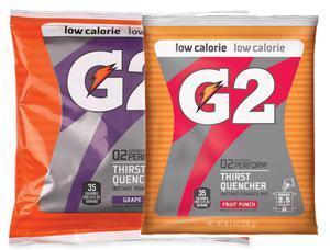 China G2 Gatorade Low Calorie Powder Variety 2.5 Gallon - 8.0 oz. Instant Gatorade Mix on sale