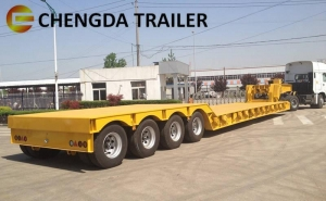 China Special Lowbed Semi Trailer on sale