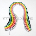 150Strips Mixed Colors 5MM Wide Quilling Paper Strips, 15 l...(DIY-R025-05)