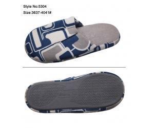 China inter indoor cotton slipper on sale